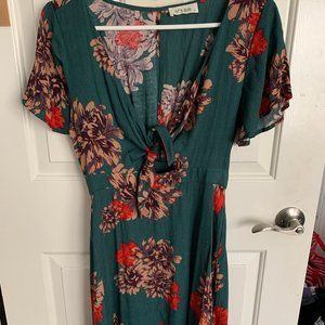 Lizard Thicket Floral Dress